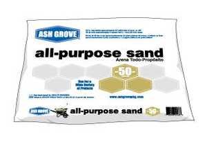Ash Grove 32032H Sand All Purpose 50 Lbs