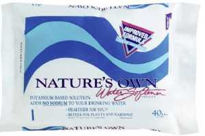 Natures Own 40010 Natures Own Potassium Water Softener Crystals 40 Lbs