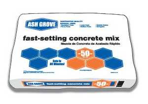 Ash Grove 44.362 Concrete Fast Set 50 Lbs