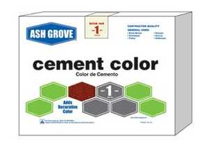 Ash Grove 476 Cement Color Brown 1 Lbs