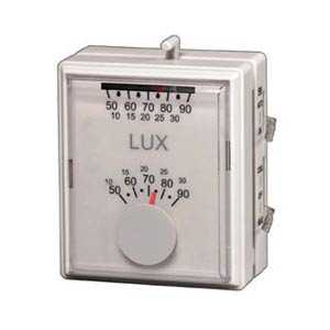 Lux Products T40-1143 Heating/Cooling Thermostat