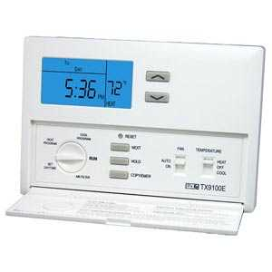 Lux Products TX9100E SmartTemp Tx9100e 7 Day Programmable Thermostat