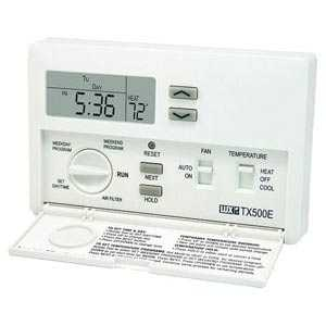 Lux Products TX500E 5-2 Day Programmable Thermostat