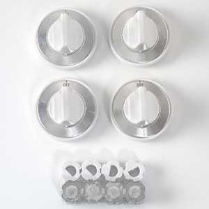 Lux Products CPR409 Gas Top Burner Replacement Knob White