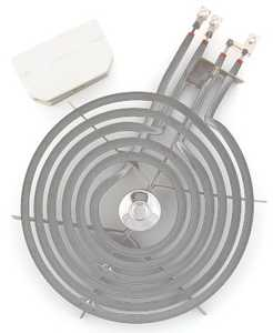Lux Products RT8G6HLR Replacement Top Burner Electric 8 In