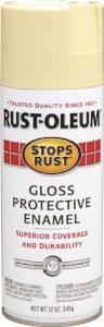 Rust-Oleum 7794830 Stops Rust Interior/Exterior Enamel Spray Paint Antique White