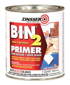 Zinsser 00904 1-Quart White Primer
