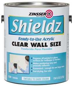 Zinsser 2101 Shieldz Acrylic Wallcovering Primer 126 Fl