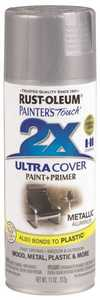 Rust-Oleum 249128 Painter's Touch Spray Paint And Primer Aluminum