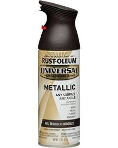 Rust-Oleum 249131 Universal Interior/Exterior Metallic Spray Paint Bronze