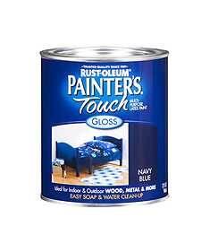 Rust-Oleum 1922730 Painters Touch Navy Blue 1/2 Pt