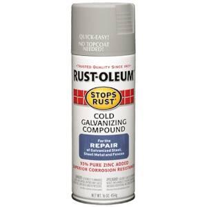 Rust-Oleum 7785830 Stops Rust Cold Galvanizing Compound Spray Gray