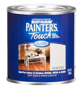 Rust-Oleum 1994730 Painters Touch Almond 1/2 Pt