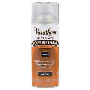 Rust-Oleum 9081 Varathane Interior Ultimate Polyurethane Clear Gloss Finish 11-1/4-Ounce Can