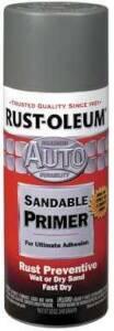 Rust-Oleum 2089830 Stops Rust Paint Gray Sandable Primer 12 oz