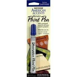 Rust-Oleum 215155 American Accents Decorative Paint Pen Satin Sapphire