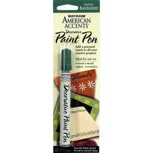 Rust-Oleum 215157 American Accents Decorative Paint Pen Satin Bayberry