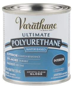Varathane 200061H 1/2-Pint Gloss Clear Polyurethane Finish