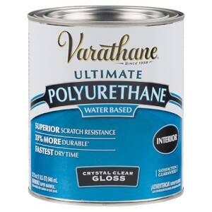 Rust-Oleum 200141H Varathane Interior Water-Based Polyurethane Crystal Clear