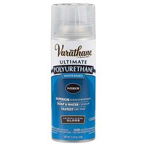 Rust-Oleum 200081 Varathane Interior Ultimate Polyurethane Crystal Clear Gloss Finish 11-1/4-Ounce Can