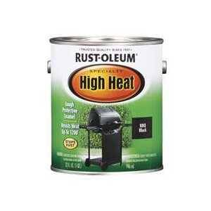 Rust-Oleum 233967 Specialty High Heat BBQ Black Paint Gal