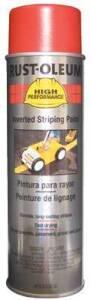 Rust-Oleum 2364838 Striping Spray Paint Red 18 oz