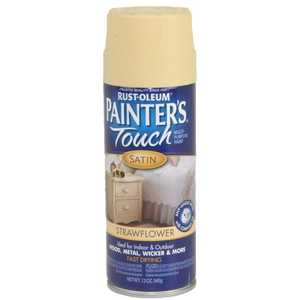 Rust-Oleum 240281 Painter's Touch Spray Paint Strawflower
