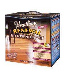 Rust-Oleum 242008 Renewal Wood Varathane Kit+dvd Semi Gloss