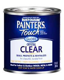 Rust-Oleum 242058 Painters Touch Gloss Clear 1/2p