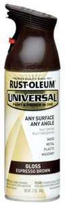 Rust-Oleum 245215 Universal Interior/Exterior Spray Paint And Primer Espresso