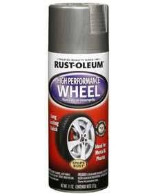 Rust-Oleum 248927 Automotive High Performance Wheel Steel