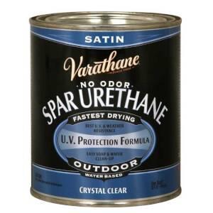 Varathane 250141H Diamond Outdoor Spar Urethane Semi Gloss Qt