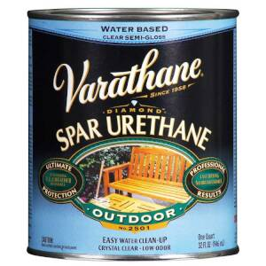 Varathane 250241H Diamond Outdoor Spar Urethane Satin Qt