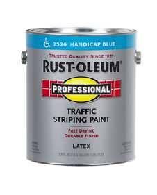Rust-Oleum 2526402 Traffic Striping Handicap Blue Gal