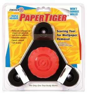 Zinsser 02976 Paper Tiger Triple Head Wallpaper Removal Scoring Tool