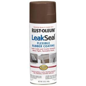 Rust-Oleum 267976 Leak Seal Brown Spray