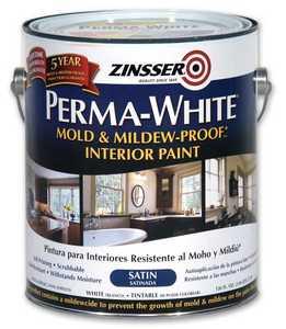 Zinsser 02711 Perma-Guard Interior Mold And Mildew-Proof Satin Gallon