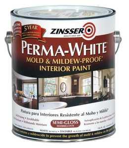 Zinsser 02761 Perma-Guard Interior Mold And Mildew-Proof Semi-Gloss Gallon