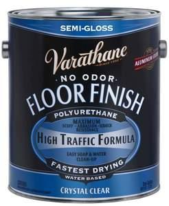 Varathane 230131 1-Gallon Semi-Gloss Crystal Clear Floor Finish