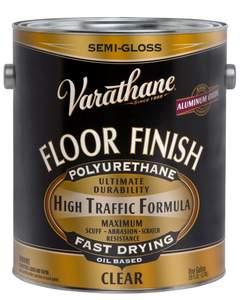Varathane 130131 1-Gallon Semi Gloss Oil Base Premium Floor Finish
