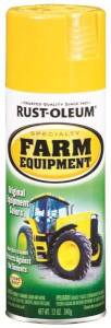 Rust-Oleum 7443830 Specialty Farm Equipment Spray Paint John Deere Yellow