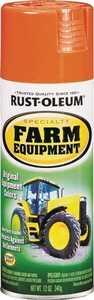 Rust-Oleum 7458830 Specialty Farm Equipment Spray Paint Allis Chalmers Orange