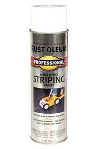 Rust-Oleum 2593838 Professional Interior/Exterior Striping Spray Paint White