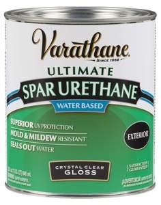 Varathane 250041H 1-Quart Gloss Water Based Spar Urethane