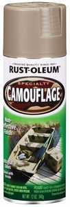 Rust-Oleum 1917830 Specialty Camouflage Spray Paint Khaki