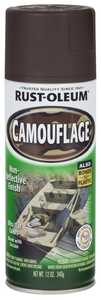Rust-Oleum 1918830 Specialty Camouflage Spray Paint Earth Brown