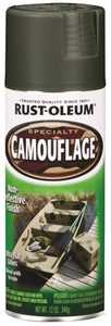 Rust-Oleum 1919830 Specialty Camouflage Spray Paint Earth Forest Green