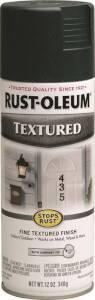 Rust-Oleum 7222830 Stops Rust Interior/Exterior Textured Spray Paint Forest Green