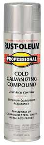 Rust-Oleum 7585838 Professional Galvanizing Compound Spray Cold Gray