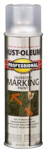 Rust-Oleum 2596838 Professional Exterior Marking Spray Paint Clear